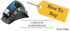 Cordless Screwdriver India : 10 Tips on buying it online.