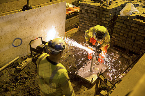 angle grinder photo