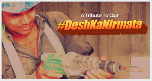 An inspirational tribute to the courageous working class of India. #DeshKaNirmata