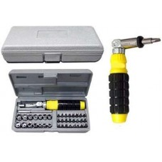 9 jacks Ratchet Screwdriver Set  Screwdriver - prices of tools from flipkart, amazon, snapdeal, tolexo, industrybuying, moglix