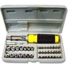 Aiwa Ratchet Screwdriver Set  Screwdriver - prices of tools from flipkart, amazon, snapdeal, tolexo, industrybuying, moglix