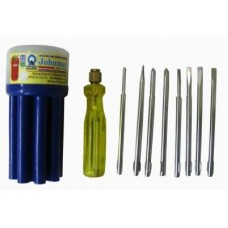 Johnman Standard Screwdriver Set  Screwdriver - prices of tools from flipkart, amazon, snapdeal, tolexo, industrybuying, moglix