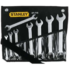 Stanley 1-87-718 Double Sided Open End Wrench Set  Wrench and Socket Sets - prices of tools from flipkart, amazon, snapdeal, tolexo, industrybuying, moglix