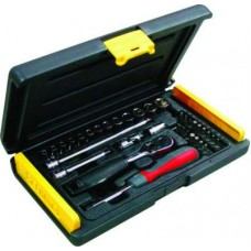 Stanley Mechanic Tools Kit - 1-89-033 Socket and Bit Set (35 PC)  Wrench and Socket Sets - prices of tools from flipkart, amazon, snapdeal, tolexo, industrybuying, moglix