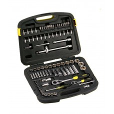 Stanley - Mechanic Tools Kit - 94-190 Metric Set (86 PC)  Wrench and Socket Sets - prices of tools from flipkart, amazon, snapdeal, tolexo, industrybuying, moglix