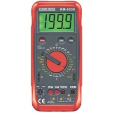 Kusam Meco 6030 Digital Multimeter With Mechnical Terminal Blocking System  Multimeters - prices of tools from flipkart, amazon, snapdeal, tolexo, industrybuying, moglix