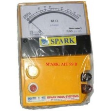 Spark 500 V Analog Insulation Tester Ait 99 B  Levels - prices of tools from flipkart, amazon, snapdeal, tolexo, industrybuying, moglix