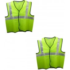 Brite Eye Green  Safety Jacket (Pack Of 2)  Safety Jackets / Vest - prices of tools from flipkart, amazon, snapdeal, tolexo, industrybuying, moglix