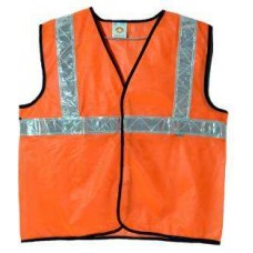 Brite Eye Orange Safety Jacket  Safety Jackets / Vest - tooldunia