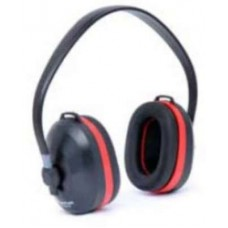 Frontier Overhead Red Ear Muff  Safety Earplugs - tooldunia
