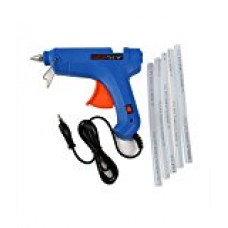 80w Glue Gun+Hot Glue Stick 5 pcs  Glue Guns Combos - prices of tools from flipkart, amazon, snapdeal, tolexo, industrybuying, moglix