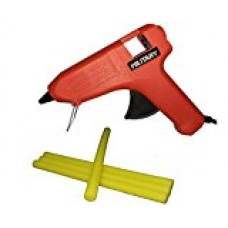 iwill Original Red Military 40W 40 Watt Hot Melt Glue Gun With 4 Yellow Hot Melt Glue Sticks  Glue Guns Combos - prices of tools from flipkart, amazon, snapdeal, tolexo, industrybuying, moglix