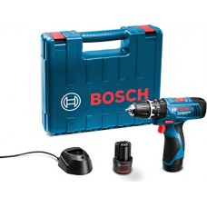 Bosch 06019F30K4 GSB-120-2-Li Cordless Drill Driver (Blue)  Power Drills - prices of tools from flipkart, amazon, snapdeal, tolexo, industrybuying, moglix