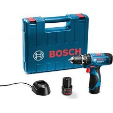 BOSCH CORDLESS IMPACT DRILL/DRIVER GSB 120LI KIT WITH 100 pcs ACCESSORIES  Impact Driver - prices of tools from flipkart, amazon, snapdeal, tolexo, industrybuying, moglix