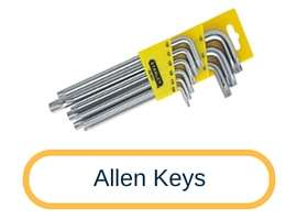 allen keys in hand tools - Tooldunia