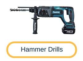 Hammer drills for Electrician Tools - Tooldunia